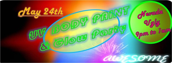 UV Body Paint Party